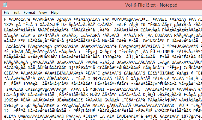 Converting from non Unicode (Nudi, Baraha, …) font encoding to
